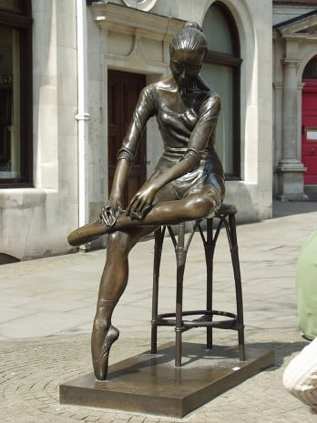 Bronze Maintenance Little Dancer Covent Garden