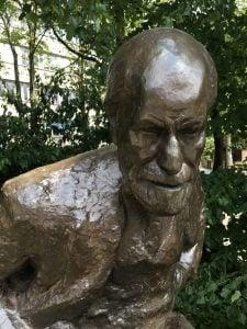 Freud Bronze Sculpture