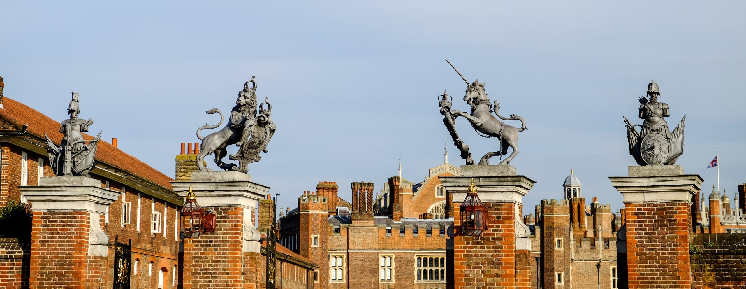 The Trophy Gates Hampton Court Palace Sculpture Conservation