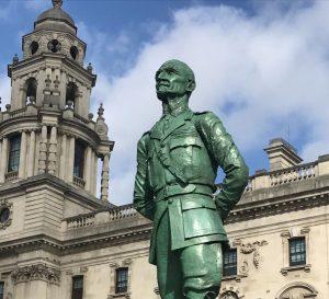 Bronze statue restoration, Field Marshall Smuts